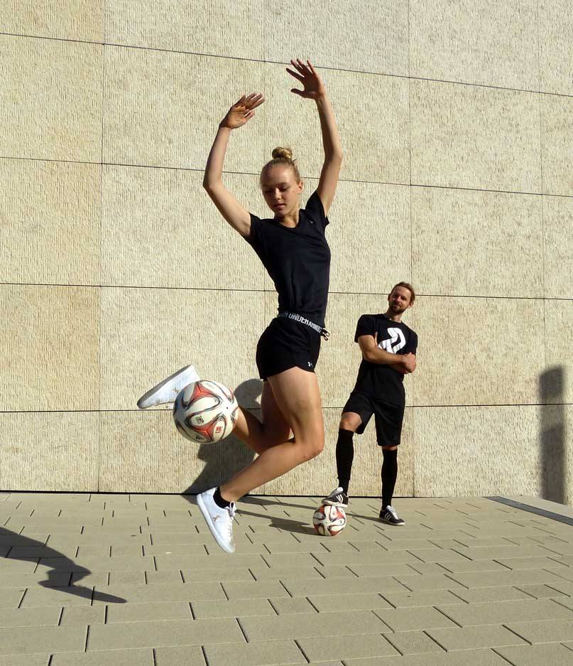 Dana Fußball Freestyle Mixed Duo